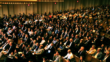 New York More than 3,000 portfolio managers, private investors, and asset allocators gathered at David Geffen Hall at Lincoln Center for the 2019 Sohn Investment Conference. For many of the event's Wall-Street-elite speakers, the event is the only public forum in which they share their coveted insights all year. CNBC and Bank of America Merrill Lynch were among the event's top sponsors, and ticket sales benefited the Sohn Conference Foundation, which funds initiatives to cure and treat pediatric cancer. Next: May 13, 2020
