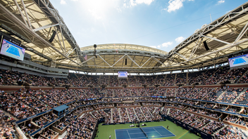 New York The U.S. Open at the USTA Billie Jean King National Tennis Center in Queens, New York was more popular than ever this year, with a record 853,227 attendees, 23 sold-out matches, 300 million social media interactions, and nearly 1.3 million viewers of ESPN's coverage of the event, a 23 percent increase over 2018. The tournament's new U.S. Open Now live-streaming lifestyle channel attracted 5.5 million viewers from across the globe. On the courts, 19-year-old Canadian Bianca Andreescu won her first Grand Slam title, and Rafael Nadal earned his 19th after a nail-biting final match that lasted nearly five hours. Next: August 24-September 6, 2020 See more: U.S. Open 2019: 22 Tennis-Theme Highlights From Sponsors and Satellite Events