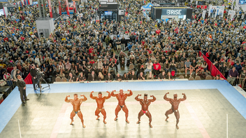 Columbus, Ohio Classic Productions Inc. hosted the 2019 Arnold Sports Festival USA at the Greater Columbus Convention Center. Named for founder Arnold Schwarzenegger, the show is the largest multi-sport festival in the country, with 22,000 athletes from 60 countries competing in more than 80 events ranging from judo and fencing to table tennis and boxing. Armlifting, foosball, and speed cubing were among the new events added this year. March 5-8, 2020