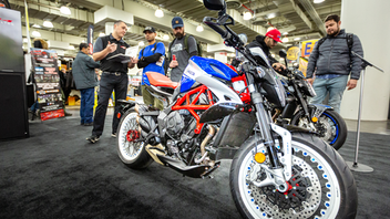 Progressive presents the New York International Motorcycle Show at the Jacob K. Javits Center in 2019. In 2019, 53,000 attendees showed up over the course of three days to purchase bikes and accessories, learn about the latest developments on two wheels, and connect with their fellow motorcycle enthusiasts. The popular Discover the Ride, an initiative that makes the motorcycle experience accessible for non-riders, returned for the second year and included the addition of the Next Steps program to help new riders get trained and licensed. Next: December 2020