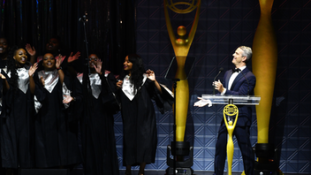 In 2019, Andy Cohen hosted the 60th anniversary of the Clio Awards ceremony at the Manhattan Center. Burger King, McCann New York, and BBDO Worldwide were among the evening's top honorees, and brands including Patagonia, Barbie, Microsoft, and Adidas were also recognized. The event included a performance by Lifetime Achievement Award winner Joan Jett, a tribute from Katie Couric to Music Impact Award winner Sheryl Crow, and appearances from the industry's most widely recognized spokespeople. Next: October 2020