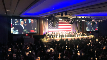 This year, 1,000 guests will gather at the New York Hilton Downtown for the 75th annual Alfred E. Smith Memorial Foundation Dinner, a tentpole event that gives the country's political leaders a forum to come together from either side of the aisle to exchange jokes and find common ground. General James Mattis served as the keynote speaker at last year's dinner, which was hosted by Martin Short and raised $5.2 million, the largest amount generated in a non-presidential election year since the event was founded. Named for the country's first Roman Catholic presidential candidate from a major political party, the 2020 dinner will likely include a tribute to Smith's great-grandson, Alfred E. Smith IV, who passed away in November. Next: October 1, 2020