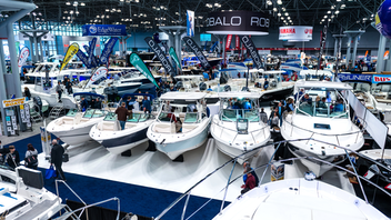 Forty-thousand boat enthusiasts came out for the 2020 Progressive Insurance New York Boat Show at the Jacob K. Javits Center, where 350 vessels were on display for the five-day event. While the show has existed since 1905, its programming continues to evolve to include the latest products and technologies. At this year's event, attendees had the chance to check out yachts and watersports boats, purchase the latest gear and accessories, participate in virtual reality experiences, and attend educational seminars. Next: January 27-31, 2021