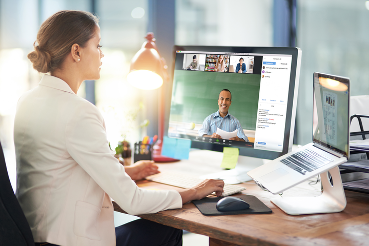 As telecommuting becomes the new norm for many companies, popular video-conferencing software Zoom has seen a surge in use.