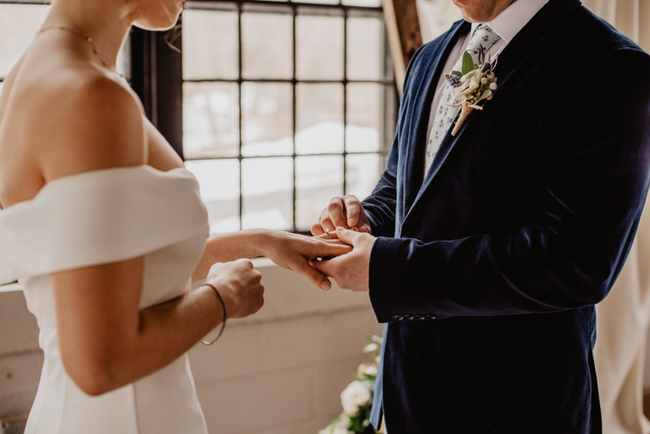 'Just because your plans have been altered due to the outbreak doesn't mean that you're not entitled to commemorating a special day—in a modified but meaningful way,' says Karen Norian of Simply Eloped.