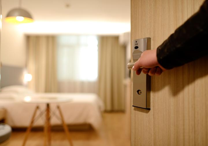 Bedroom Door Entrance Guest Room 271639
