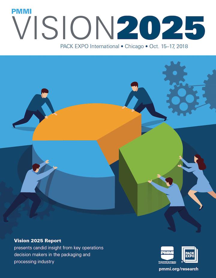 La inclusión, por primera vez, de participantes de sectores adicionales a los productores de bienes de consumo empacados o dueñas de marca, con distintas facetas y conocimientos, llevó un paso adelante al reconocido informe de inteligencia VISION 2025.