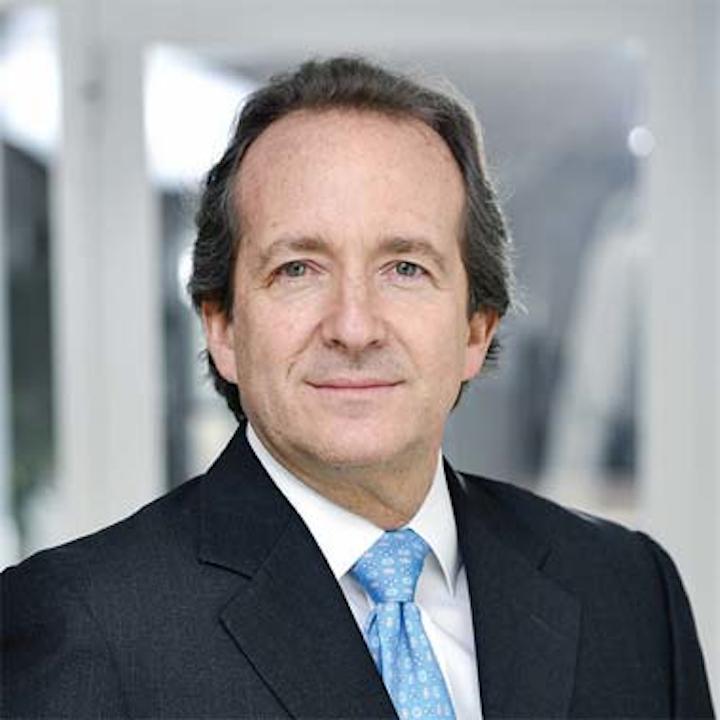 Adolfo Orive nuevo presidente y CEO de Tetra Pak, quien asumirá a partir del 1 de abril de 2019.