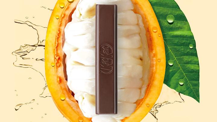El nuevo producto, que contiene un 70 por ciento de chocolate negro, empezará a venderse en Japón el tercer trimestre de este año y se comercializará en 2020 en otros países del mundo. Foto www.empresa.nestle.es