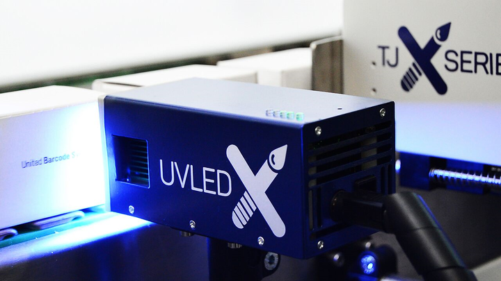 Sistema TJX UVLED de United Barcode Systems