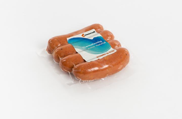 Mondi se asocia con el productor de carne Hütthaler para crear nuevos envases de plástico totalmente reciclables.